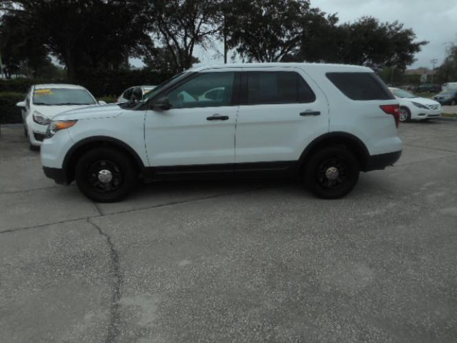2014 FORD EXPLORER POLICE 4 DOOR WAGON
